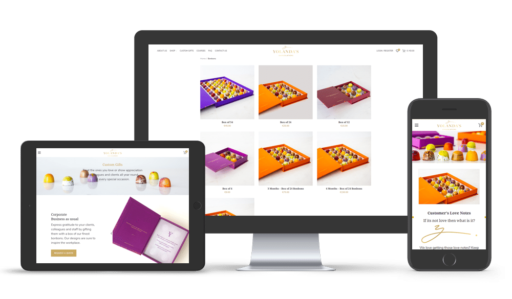 Cyprus eshop website design